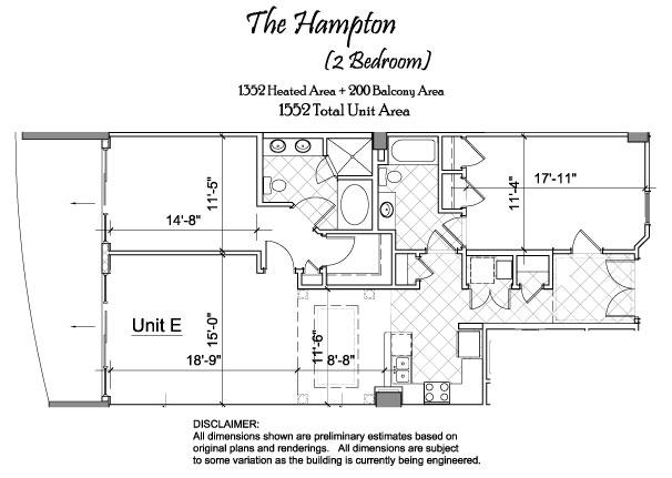 Floor Plan Dimensions | North Beach Towers Floor Plans North Beach Towers In Myrtle Beach