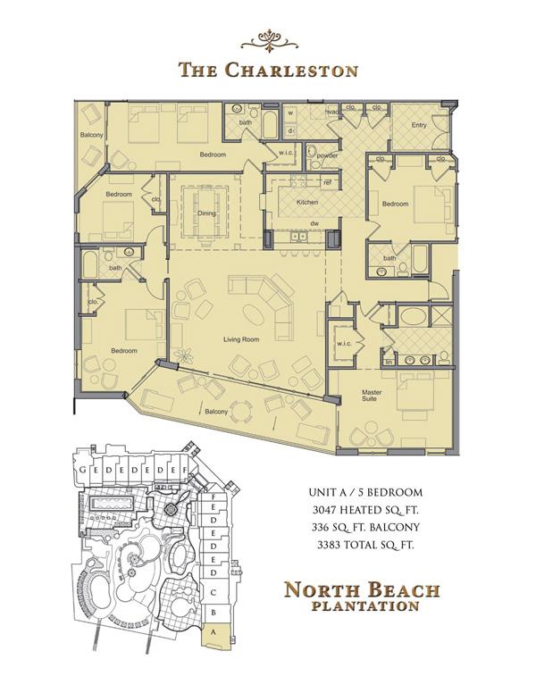 5 Bedroom North Beach Plantation