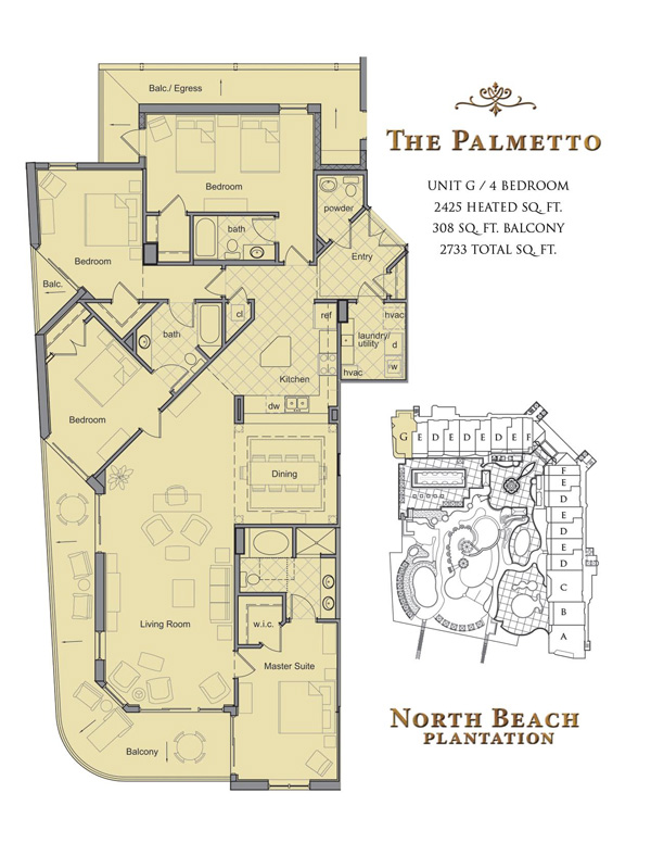 North Beach Towers Floor Plans In