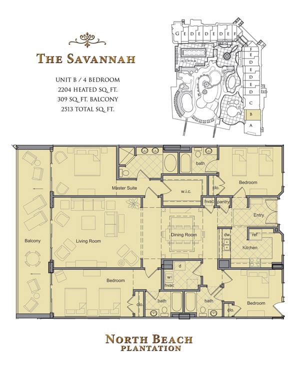 North Beach Towers Floor Plans