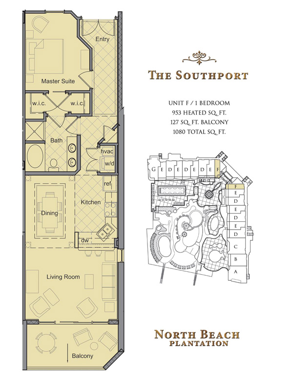 North Beach Towers Floor Plans
